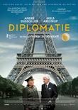 Diplomatie - deutsches Filmplakat - Film-Poster Kino-Plakat deutsch