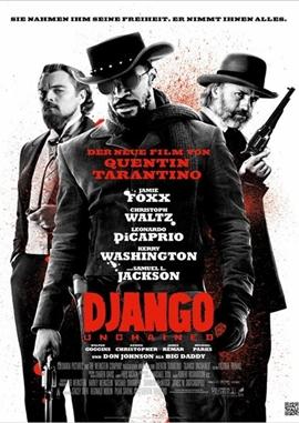 Django Unchained – deutsches Filmplakat – Film-Poster Kino-Plakat deutsch