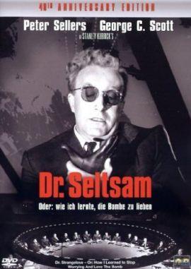 Dr. Seltsam oder: Wie ich lernte, die Bombe zu lieben – deutsches Filmplakat – Film-Poster Kino-Plakat deutsch