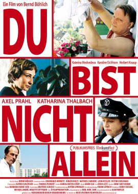 Du bist nicht allein – deutsches Filmplakat – Film-Poster Kino-Plakat deutsch