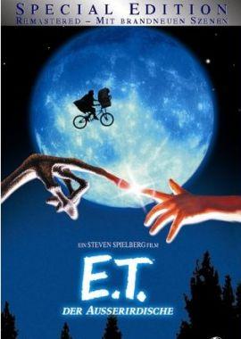 E.T. – Der Außerirdische – deutsches Filmplakat – Film-Poster Kino-Plakat deutsch