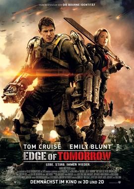 Edge of Tomorrow – deutsches Filmplakat – Film-Poster Kino-Plakat deutsch