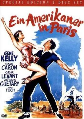 Ein Amerikaner in Paris – deutsches Filmplakat – Film-Poster Kino-Plakat deutsch