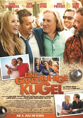 Eine ganz ruhige Kugel – deutsches Filmplakat – Film-Poster Kino-Plakat deutsch