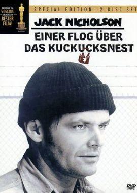Einer flog über das Kuckucksnest – deutsches Filmplakat – Film-Poster Kino-Plakat deutsch