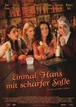 Einmal Hans mit scharfer Soße – deutsches Filmplakat – Film-Poster Kino-Plakat deutsch