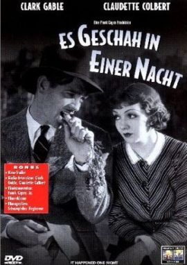 Es geschah in einer Nacht – deutsches Filmplakat – Film-Poster Kino-Plakat deutsch