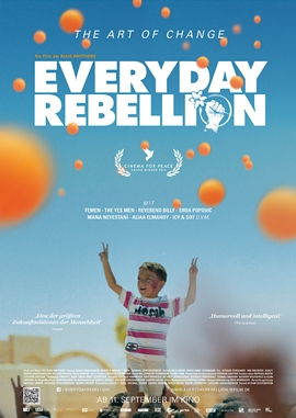 Everyday Rebellion – deutsches Filmplakat – Film-Poster Kino-Plakat deutsch
