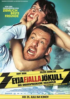Eyjafjallajökull – Der unaussprechliche Vulkanfilm – deutsches Filmplakat – Film-Poster Kino-Plakat deutsch