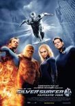Fantastic Four – Rise of the Silver Surfer – deutsches Filmplakat – Film-Poster Kino-Plakat deutsch