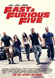 Fast & Furious Five – deutsches Filmplakat – Film-Poster Kino-Plakat deutsch