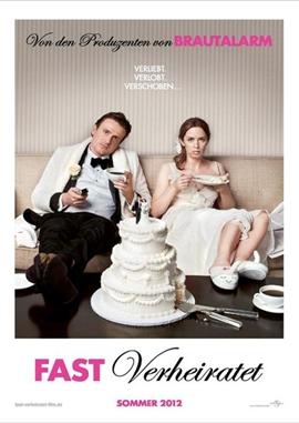 Fast verheiratet – deutsches Filmplakat – Film-Poster Kino-Plakat deutsch