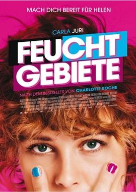 Feuchtgebiete – deutsches Filmplakat – Film-Poster Kino-Plakat deutsch