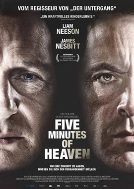 Five Minutes of Heaven – deutsches Filmplakat – Film-Poster Kino-Plakat deutsch