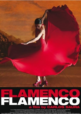 Flamenco, Flamenco – deutsches Filmplakat – Film-Poster Kino-Plakat deutsch