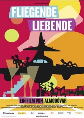 Fliegende Liebende – deutsches Filmplakat – Film-Poster Kino-Plakat deutsch