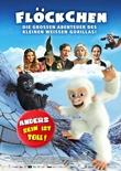 Flöckchen - Die großen Abenteuer des kleinen weißen Gorillas - deutsches Filmplakat - Film-Poster Kino-Plakat deutsch