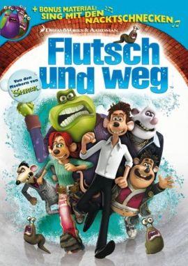 Flutsch und weg – deutsches Filmplakat – Film-Poster Kino-Plakat deutsch
