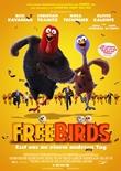 Free Birds – Esst uns an einem anderen Tag – deutsches Filmplakat – Film-Poster Kino-Plakat deutsch