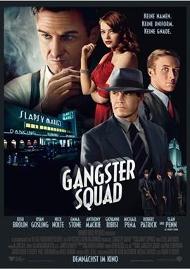 Gangster Squad – deutsches Filmplakat – Film-Poster Kino-Plakat deutsch