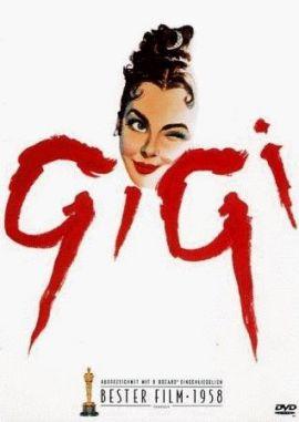 Gigi – deutsches Filmplakat – Film-Poster Kino-Plakat deutsch