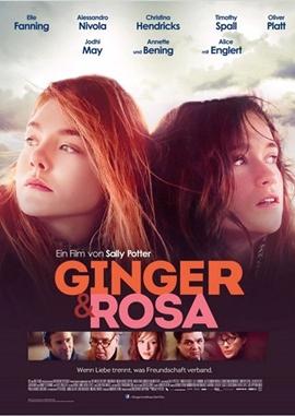 Ginger & Rosa – deutsches Filmplakat – Film-Poster Kino-Plakat deutsch