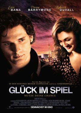 Glück im Spiel – deutsches Filmplakat – Film-Poster Kino-Plakat deutsch