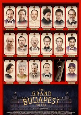 Grand Budapest Hotel – deutsches Filmplakat – Film-Poster Kino-Plakat deutsch