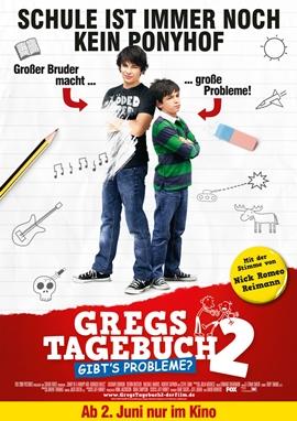 Gregs Tagebuch 2: Gibt's Probleme? – deutsches Filmplakat – Film-Poster Kino-Plakat deutsch
