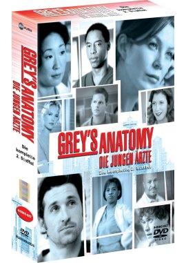 Grey's Anatomy – Die jungen Ärzte, Die komplette 2. Staffel