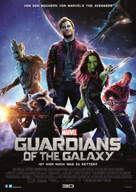 Guardians of the Galaxy – deutsches Filmplakat – Film-Poster Kino-Plakat deutsch
