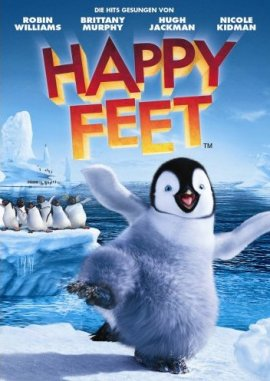 Happy Feet – Rick Kavanian, Ben Becker, Robin Williams, Nicole Kidman, Brittany Murphy, Hugh Jackman – George Miller, Warren Coleman – Pinguin – Filme, Kino, DVDs Kinofilm Animations-Familienkomödie – Charts & Bestenlisten