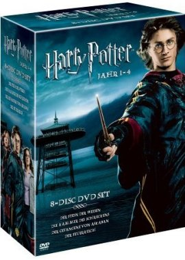 Harry Potter Box – Jahr 1-4