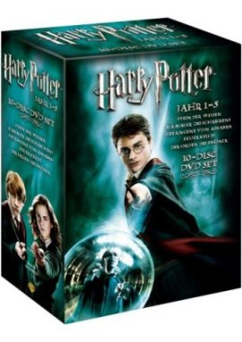 Harry Potter Box – Jahr 1-5