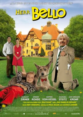 Herr Bello – deutsches Filmplakat – Film-Poster Kino-Plakat deutsch