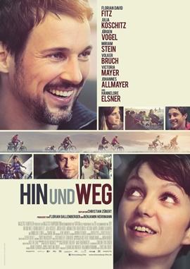 Hin und weg – deutsches Filmplakat – Film-Poster Kino-Plakat deutsch