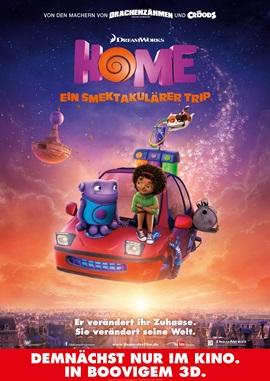 Home – Ein smektakulärer Trip – deutsches Filmplakat – Film-Poster Kino-Plakat deutsch