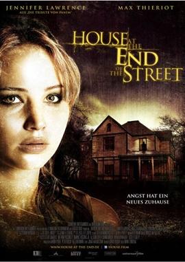 House at the End of the Street – deutsches Filmplakat – Film-Poster Kino-Plakat deutsch