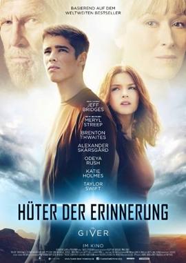 Hüter der Erinnerung – The Giver – deutsches Filmplakat – Film-Poster Kino-Plakat deutsch