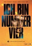 Ich bin Nummer Vier – deutsches Filmplakat – Film-Poster Kino-Plakat deutsch