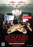 Im August in Osage County – deutsches Filmplakat – Film-Poster Kino-Plakat deutsch