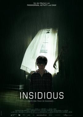 Insidious – deutsches Filmplakat – Film-Poster Kino-Plakat deutsch
