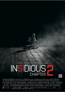 Insidious Chapter 2 – deutsches Filmplakat – Film-Poster Kino-Plakat deutsch