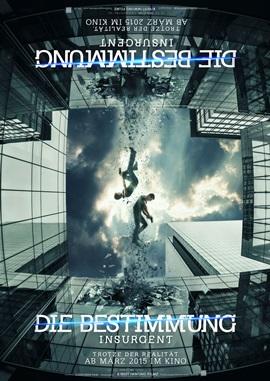 Die Bestimmung 2 – Insurgent – deutsches Filmplakat – Film-Poster Kino-Plakat deutsch