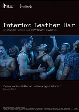Interior. Leather Bar. – deutsches Filmplakat – Film-Poster Kino-Plakat deutsch