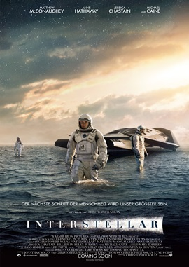Interstellar – deutsches Filmplakat – Film-Poster Kino-Plakat deutsch