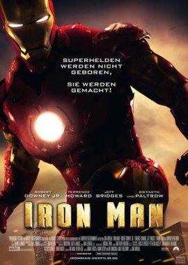 Iron Man – deutsches Filmplakat – Film-Poster Kino-Plakat deutsch