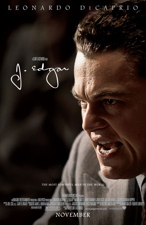 J. Edgar – deutsches Filmplakat – Film-Poster Kino-Plakat deutsch