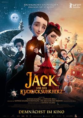 Jack und das Kuckucksuhrherz – deutsches Filmplakat – Film-Poster Kino-Plakat deutsch