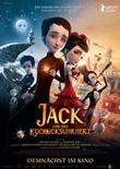 Jack und das Kuckucksuhrherz - deutsches Filmplakat - Film-Poster Kino-Plakat deutsch
